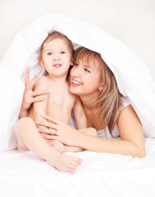 Free Mother And Her Baby Stock Photography - 17401152