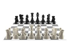 Free A Set Of Chess Pieces Royalty Free Stock Images - 17401989