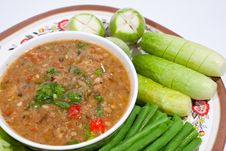 Free Thai Food. Curry Cooked Vegetables. Stock Image - 17402381