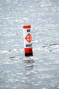 Free Warning Buoy Stock Photography - 17402622