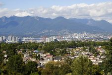 Free View Of Vancouver Stock Photos - 17402913