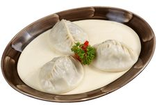 Free Oriental Meat Dumplings Stock Photography - 17404052