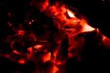 Free Burning Down Fire Royalty Free Stock Photo - 17404565