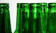 Free Green Bottles Royalty Free Stock Images - 17404839