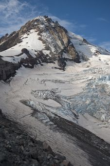Free Eliot Glacier On Mt. Hood Stock Photo - 17405100