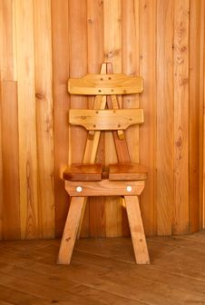Free Wooden Chair Royalty Free Stock Photo - 17405975
