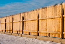Free Winter Fence Royalty Free Stock Images - 17405989