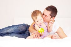 Free Father And Child Royalty Free Stock Photo - 17406645
