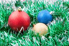 Free Christmas Decorations Royalty Free Stock Image - 17406706
