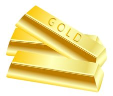 Free Gold In Bullion Royalty Free Stock Images - 17406969