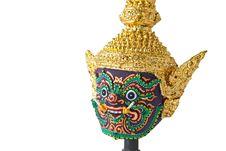 Khon, Traditional Thai Giant Mask Stock Photography