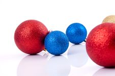 Free Christmas Decorations Royalty Free Stock Photo - 17407135