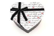 Free Heart Holiday Gift Box Stock Photo - 17407230