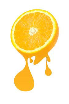 Free Juicy Orange Stock Images - 17407334