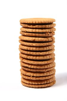 Free Cookies Tower Stock Image - 17408151