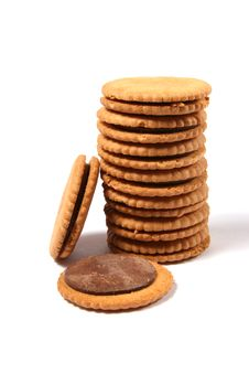 Free Cookies Tower Stock Images - 17408154