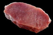 Free Fresh Pork Loin Chops Stock Image - 17408721