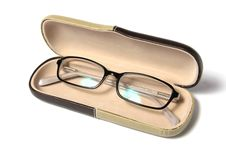 Free Eyeglasses In Case Stock Image - 17409041