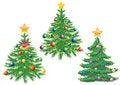Free Christmas Tree. Stock Photos - 17412413