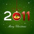 Free Christmas Card, 2011 Royalty Free Stock Image - 17412816