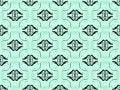 Free Blue Damask Seamless Wallpaper Royalty Free Stock Photos - 17413178