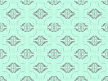 Free Blue Damask Seamless Wallpaper Royalty Free Stock Photos - 17415318
