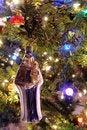 Free Christmas Ornament Hanging On Tree Stock Image - 17416341