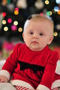 Free Santa Baby Girl Stock Photo - 17419880
