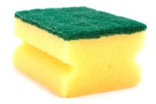 Yellow Sponge Royalty Free Stock Image
