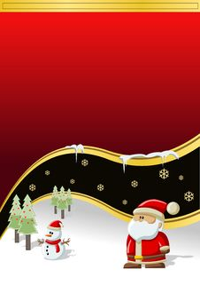 Free Santa-Claus On Christmas Time Stock Images - 17410874