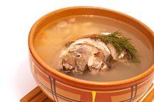 Free Fish Soup Royalty Free Stock Photos - 17411618