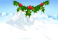Free English Holly And Mountain Stock Photos - 17411733