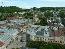 Free Panorama Of Lviv Royalty Free Stock Image - 17412316