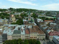 Free Panorama Of Lviv Royalty Free Stock Images - 17412319