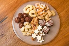 Free Selection Of Christmas Cookies Stock Photo - 17412510