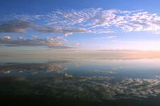 Free Reflected Sky Royalty Free Stock Photos - 17412628