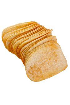 Free Potato Chips Royalty Free Stock Photo - 17412735