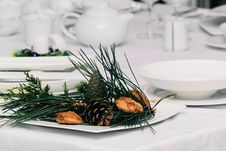 Free Table In Christmas Stock Photos - 17412923