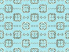 Free Blue Damask Seamless Wallpaper Royalty Free Stock Image - 17413256