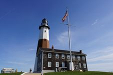 Free Montauk Lighthouse Royalty Free Stock Image - 17413606