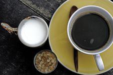 Free Coffee Set Stock Photo - 17414450
