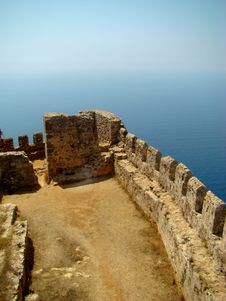 Free Alanya Castle. The XIII Century. Turkey Stock Photography - 17414552