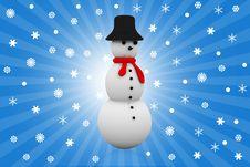 Free Snowman Stock Image - 17414561