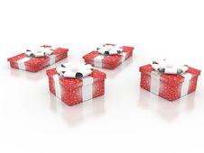 Free Gift Box Royalty Free Stock Image - 17414616