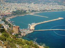 Free Alanya. Mediterranean Sea. Turkey Royalty Free Stock Photography - 17414687