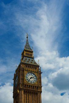 Free Big Ben 2 Royalty Free Stock Image - 17415296