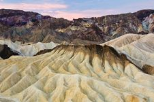 Free Zabriskie Point Royalty Free Stock Photo - 17415565