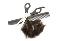 Free Barber Supplies Royalty Free Stock Photography - 17415847