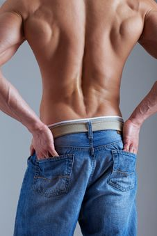 Free Muscle Back Stock Photography - 17416102