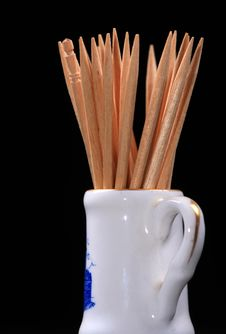 Free Wooden Toothpics Stock Photos - 17416423
